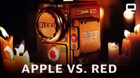 Apple couldn't stop RED's RAW video dominance