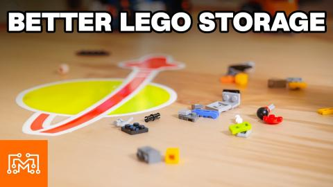Storing a Massive Amount of LEGO Bricks   I Like To Make Stuff