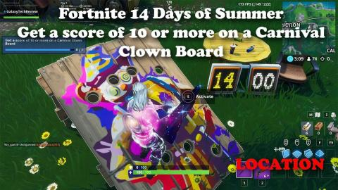 Fortnite - 14 Days of Summer - Destroy Grills with the Low n