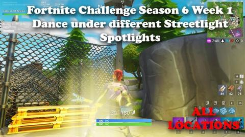 Fortnite Season 6 Week 5 Record A Speed Of 27 Or More On