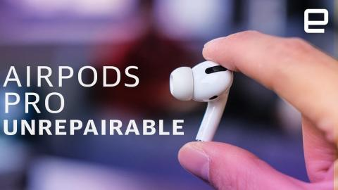 The AirPods Pro are basically unrepairable