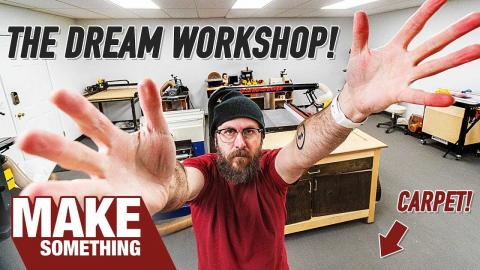 Shop Tour – Not Your Ordinary Workshop! You Might Think I'm Crazy!