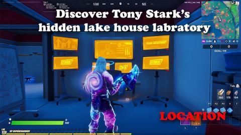 Discover Tony Stark's Hidden Lake House Laboratory - Week 7 Challenge