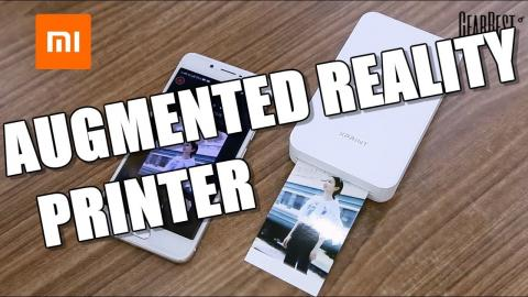 Xiaomi Wireless AR XPrint Printer - GearBest