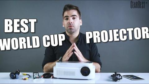 Video Projector Excelvan Q7 World Cup Edition - GearBest