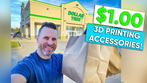 $1.00 3D Printing Accessories from the Dollar Store!