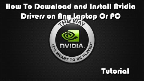 How to Download or Update Nvidia Drivers for ANY Laptop or PC - Tutorial