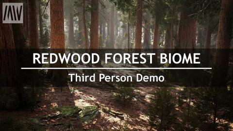 MAWI Redwood Forest Biome | Demo