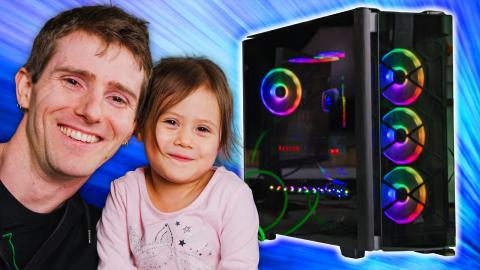 3rd time's the charm - Daddy-Daughter PC Build