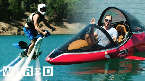 Test Driving This Summer's Wildest Watercraft | OOO With Brent Rose | WIRED