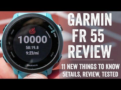 Garmin Forerunner 55 In-Depth Review: 15 New Things to Know
