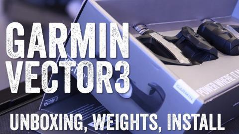 Garmin Vector 3 Unboxing!
