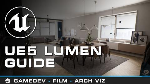 Unreal Engine 5 Lumen Tutorial - Beginner Friendly (UE5)