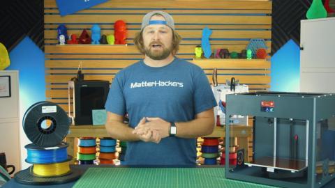 CraftBot PLUS // 3D Printer Highlights