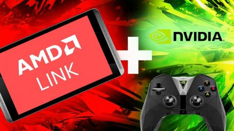 AMD Game Streaming Tested...On An NVIDIA SHIELD!