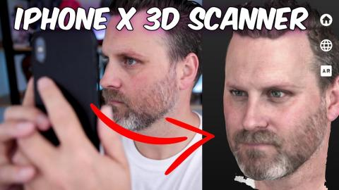 EASY 3D Scanning with your iPhone X and Scandy Pro   Tutorial