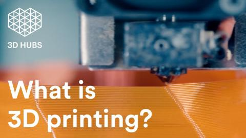 3D Printing - What is it and How Does it Work? (in 75 sec)
