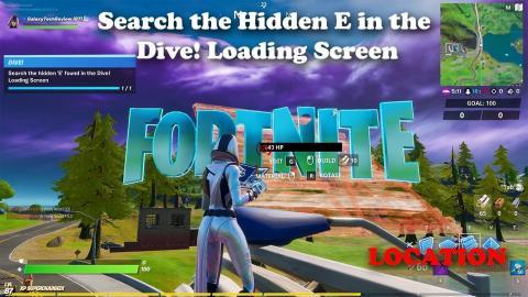 Fortnite Search Hidden O In The Open Water Loading Screen