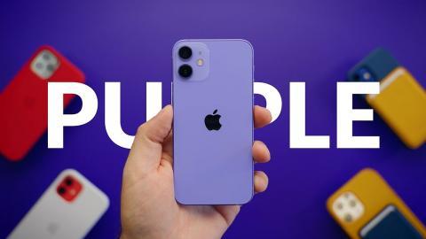 Unboxing Purple iPhone 12 Mini In Silence