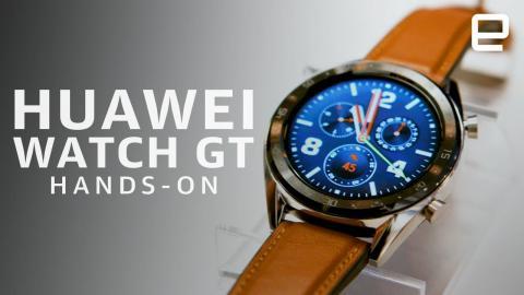 Huawei Watch GT Hands-On