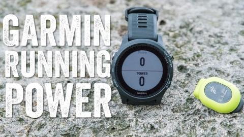FIRST RUN: GARMIN RUNNING POWER