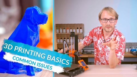 3D Printing Basics: When things go wrong! (Ep9)