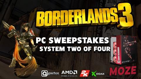 Xidax - Borderlands 3 Moze custom themed PC Sweepstakes