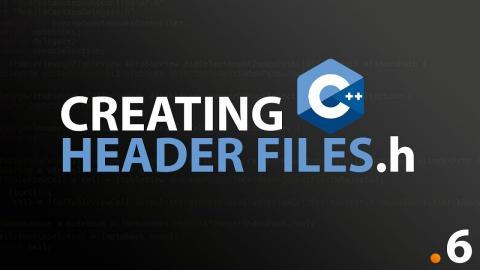 Using Header Files #6 C++ Programming Fundamentals