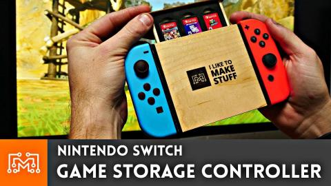 Nintendo Switch Game Storage Controller // How-to