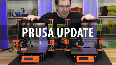 Update on my Problematic Prusa i3 mk3 3D Printer