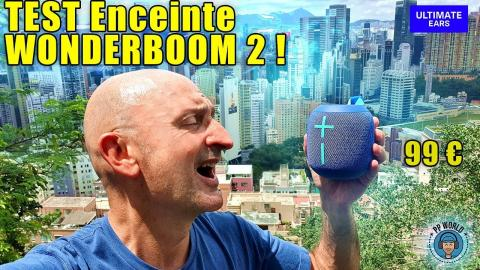 TEST Enceinte WONDERBOOM 2 (99 Euros) !