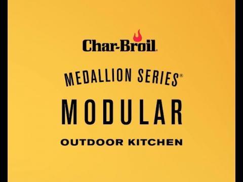 2019 Medallion Series Modular Outdoor Kitchen | Char-Broil