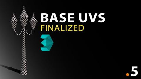 Unwrapping The Base #5 - 3DS Max Modelling Tutorial Course
