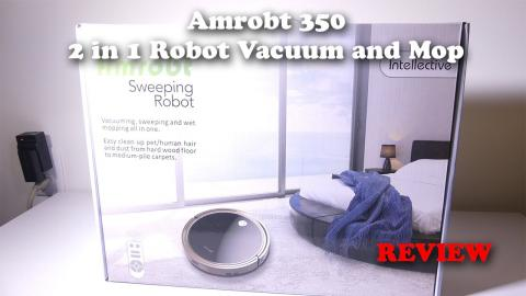 Amrobt Sweeping and Mopping Robot Vacuum REVIEW