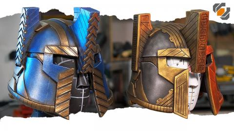 Lord of the Rings Style Dwarven Helmets Made from EVA Foam | Tutorial + Free Patterns