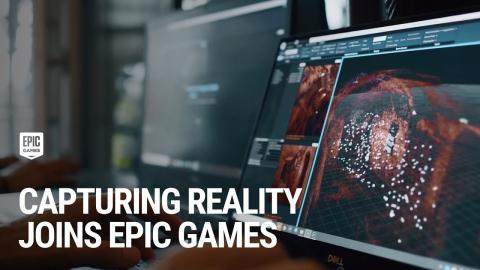 Capturing Reality is now part of Epic Games