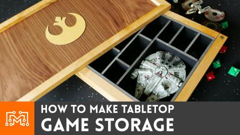 Tabletop Game Storage (Star Wars X-Wing Miniatures)