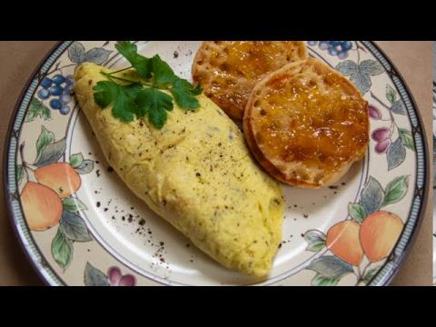 The Perfect Decadent Custardy Omelet