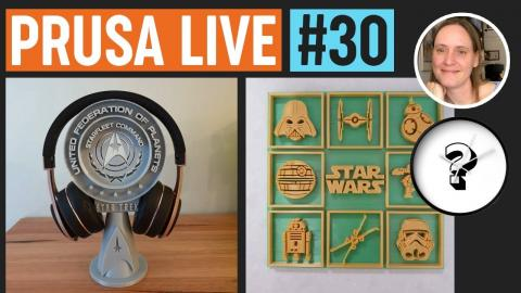 Designer 3DPrintBunny, Timekeepers contest winners and new contest - PRUSA LIVE #30