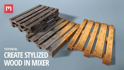 Create Stylized Wood in Mixer