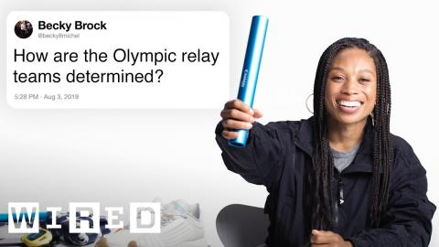Olympian Allyson Felix Answers Track Questions From Twitter   Tech Support   WIRED