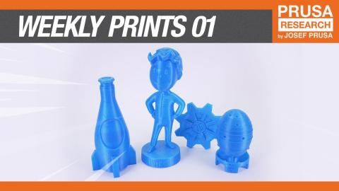 Weekly 3D prints #1: Fallout