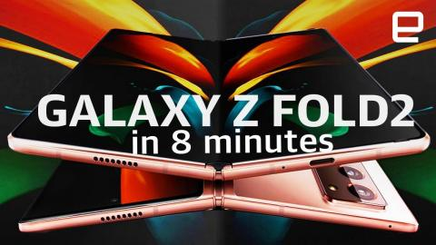Samsung Galaxy Z Fold2 event in 8 minutes
