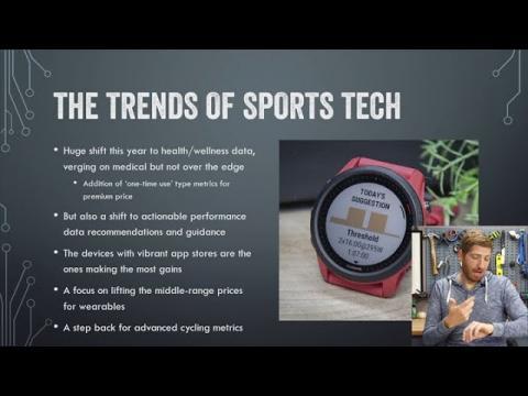 State of Sports Tech 2020 Keynote - DC Rainmaker