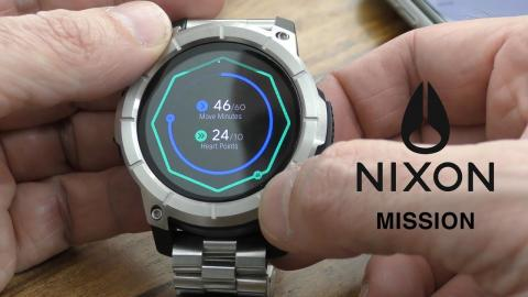 The Nixon Mission Smartwatch for Android & iPhone - Is it worth it in 2019?