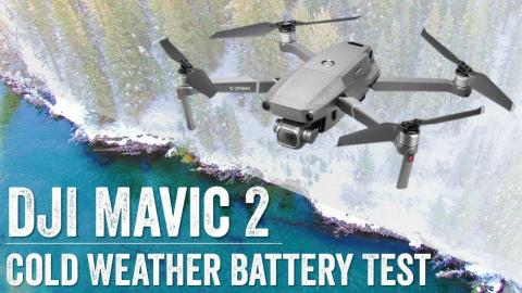DJI Mavic 2: Cold Weather Battery Test! // Mavic 2 Pro and Zoom!