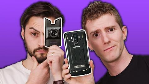 The NIGHT VISION Phone!