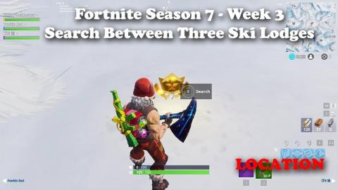 Fortnite Season 7 Week 4 Search The Letter S In Wailing Woods