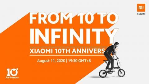 Xiaomi 10th Anniversary Launch Event Live