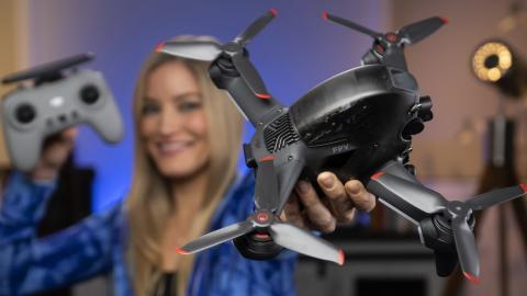 DJI's new FPV Drone!